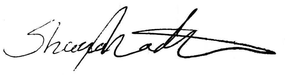 Signature of Managing Director