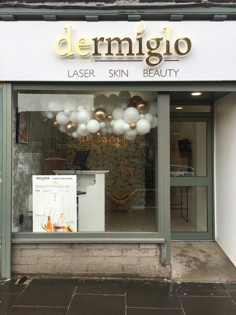 Dermiglo shop front
